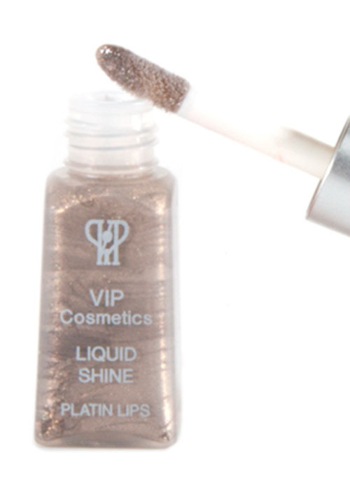 VIP Cosmetics - Platinum Liquid Lipshine Lip Gloss LS11